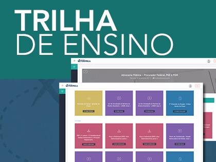 Trilha de Ensino: mais uma inovação do Instituto Fórmula!