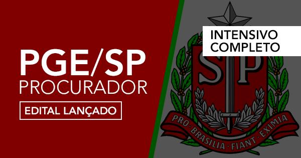 Procuradoria Geral do Estado de São Paulo – Edital publicado!