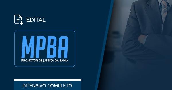 MPBA – Edital Publicado