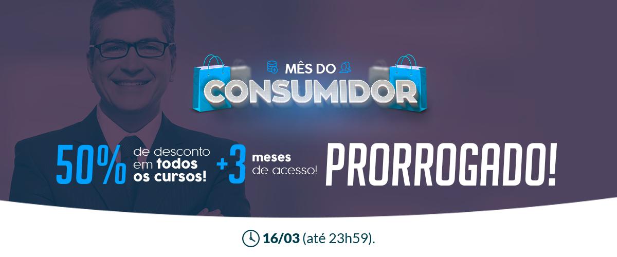 Mês do consumidor – Novidades