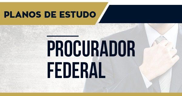 Thumbs Planos de Estudo – Procurador Federal