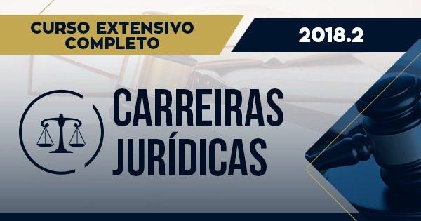curso extensivo completo Carreiras jurídicas