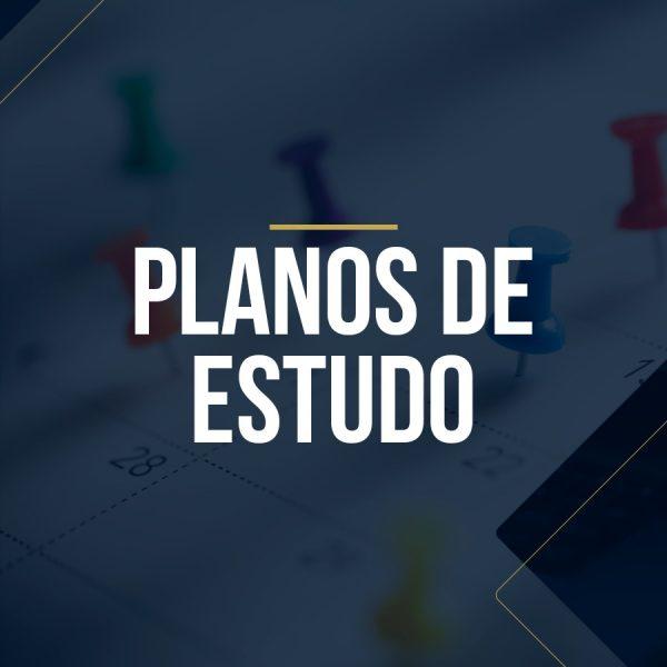 Planos de Estudo