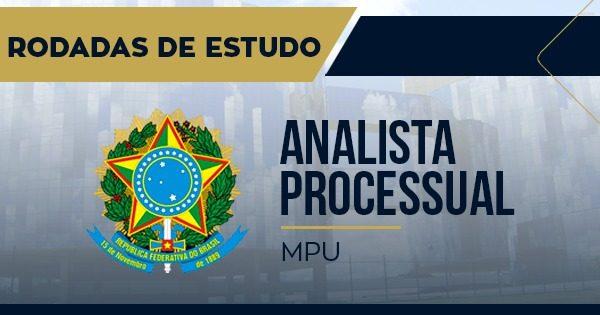 rodadas analista processual mpu